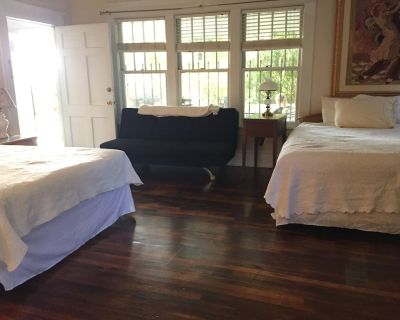 Big Private Apt in historic 1918 House, Downstairs, Lake Claire Candler Park - Lake Claire