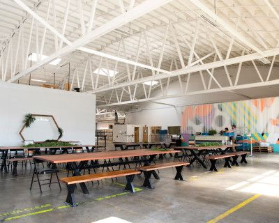 Open-Canvas Warehouse, Hawthorne, CA