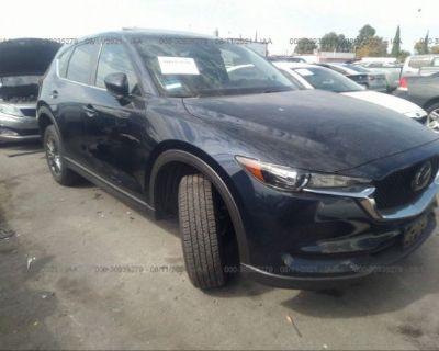 Salvage Dark Blue 2020 Mazda Cx-5