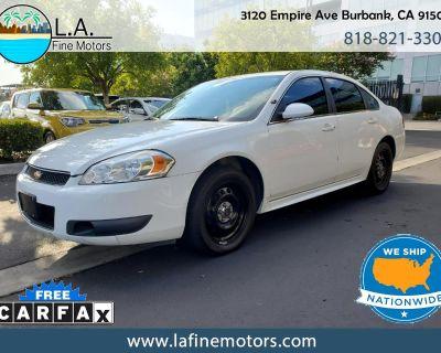 Used 2016 Chevrolet Impala Limited Police Cruiser