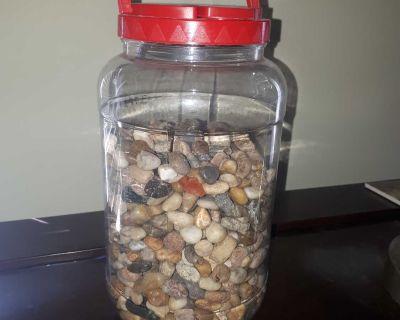 Large container of Decor/Aquarium Stones