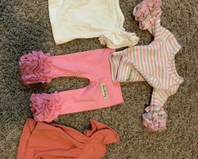 Sew sassy boutique bitty baby doll clothing lot