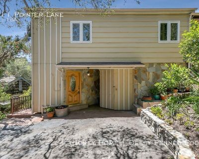 Beverly Glen 2 Story Canyon Cottage! One bed + Bonus   Private Outdoor Space! Deck & Garage