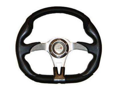 Polaris Ranger Offroad Steering Wheel (black) W/adapter
