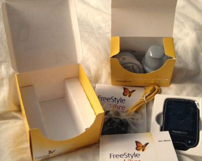 Libre Diabetes Glucose Monitoring Testing Sensor Freestyle