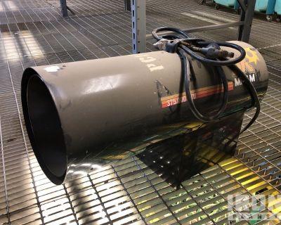 2012 (unverified) Mi-T-M MH-0375-LM10 Space Heater