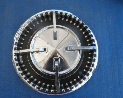 """1 Used 1960 60 Dodge Passenger Spinner Hubcap Wheel Cover 15"""" Oem 2122534 Sk4"""