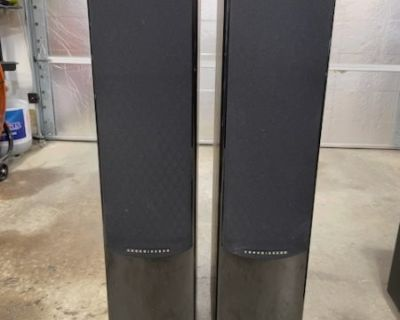FS/FT Energy Speakers & Polk subwoofer 5.1 surround sound speakers