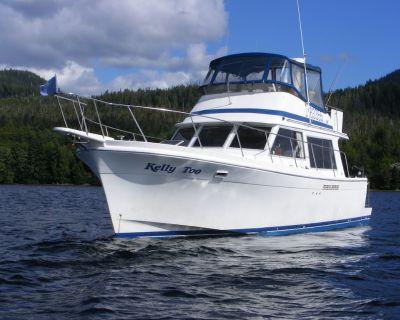 Alaska Bareboat yacht charter - Ketchikan