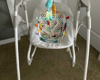 Bright Starts 2 in 1 Swing & Bouncer