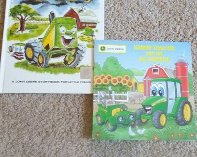2 Johnny Tractor books