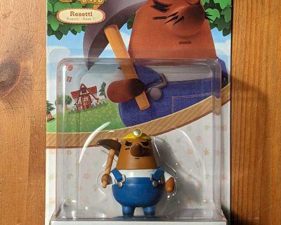 Resetti amiibo Figure - Animal Crossing series - Nintendo Switch, WiU, 3DS