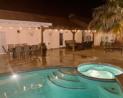 Private Home with Pool & Spa - Desert Hot Springs
