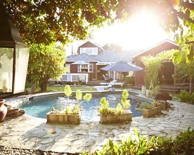 Premium Pool SoCal Spa Retreat Orchard Private R&R LA Near Universal Hollywood - Valley Village