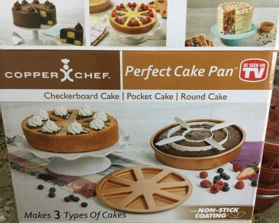 Copper Chef cake pans. I have 3. 6.00 each