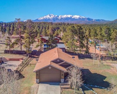 Family Home with Mountain Views in the Heart of Woodland Park - Woodland Park