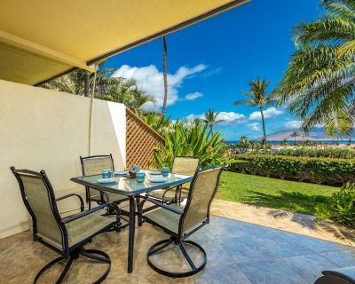 Maui Kamaole #J-119 Oceanview 1Bd/2Ba, Ground Floor, Great Location, Sleeps 2 - Kihei