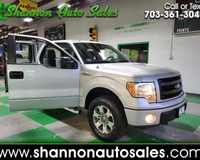Used 2013 Ford F-150 STX SuperCab 6.5-ft. Bed 4WD