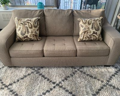 Ashley Furniture queen size sofa bed - excellent condition