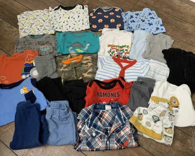 Baby boy clothing lot, 6-9 months