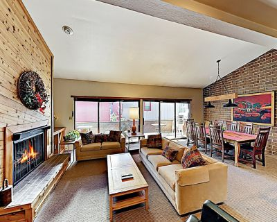 Bright Townhome w/ Sauna, Fireplace & Grill: Walk to Resort Base - Downtown Park City