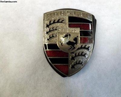Porsche 911 Hood Crest Badge