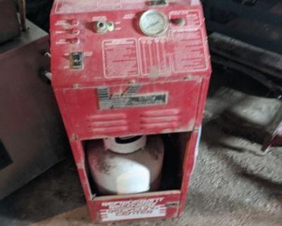 R-12 refrigerant recovery system