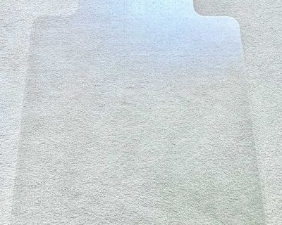 """Marvelux Polycarbonate (PC) Lipped Chair Mat 36"""" x 48"""""""
