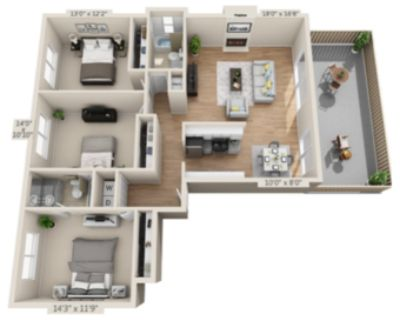 3rd female roommate needed in 3b2b in Mountain View