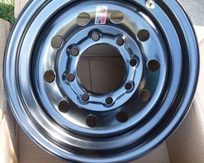 NEW Trailer 8 Lug Rims Wheels Chevy Dodge 3/4 Ton