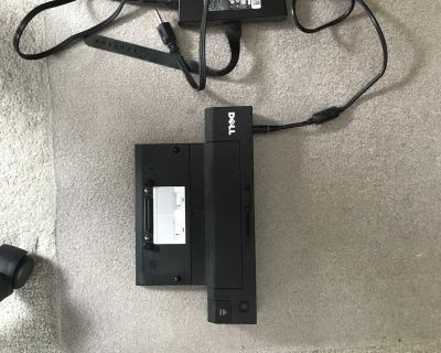 Dell laptop work station and power chord