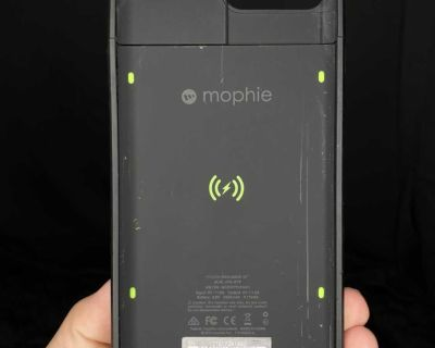mophie juice pack air - 2420mAh Battery Charging Case for iPhone 7 Plus - Black