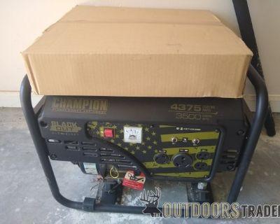 FS Champion 3500W Blackout Generator Never used