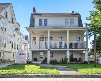 Ocean Block! From 6-12 bedrooms for your family. Steps from the beach. - Ocean City