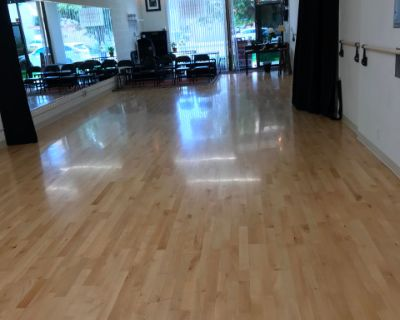 Culver City, Dance Studio with sprung real birch wood floor. Spacious and Light., Culver City, CA
