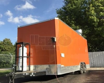 NEW 2021 8.5' x 16' Customizable Food Concession Trailers