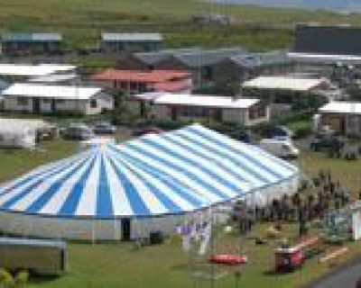 > GREAT AMERICAN- POLE TENT & LARGE AIR DOME SALE! <