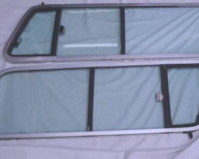 1978-79 Ford Bronco Rear Topper Sliding Popout Window Assemblies Lh Rh Ranger Xl