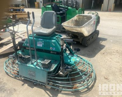 2017 (unverified) Multiquip HHNG5 Ride-On Power Trowel