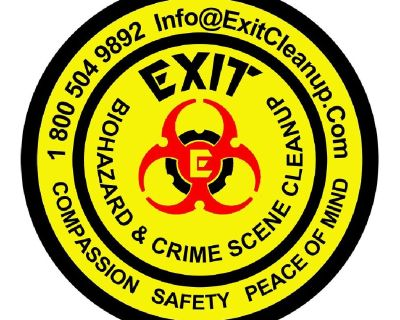 Exit Biohazard and Crime Scene Cleanup