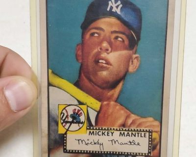 1952 mickey mantle