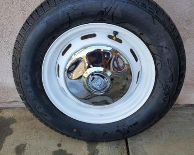 Vw Bug Spare Wheel and Tire