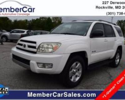 2004 Toyota 4Runner SR5 V6 4WD Automatic