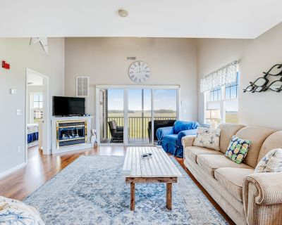 Bethany Bay Dream W/ Shared Pool, Water Views, Free Wifi & Updated Kitchen! - Ocean View