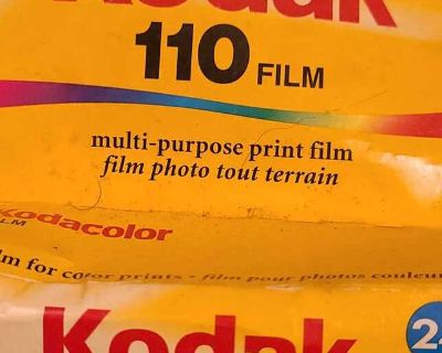Kodak 110 film 24 exposures