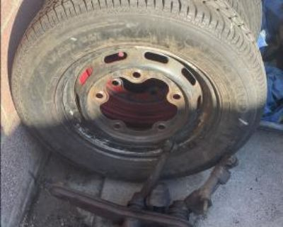 VW Wheel with Tire
