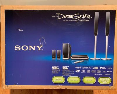 Sony surround sound with dvd player