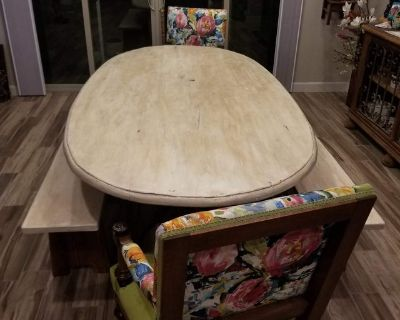 Antique French Dining Set