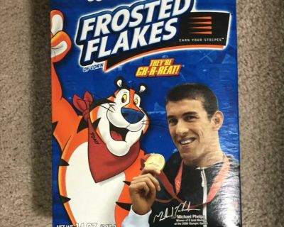 Frosted Flakes Michael Phelps Box