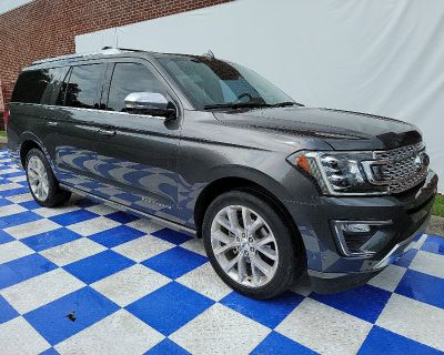 Pre-Owned 2019 Ford Expedition Max Platinum 4WD SUV